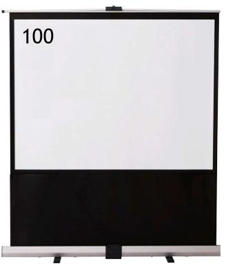 IZUMI 床置・自立 100インチスクリーン<RS-100> 【代引不可】