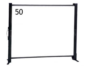 【納期:問い合せ】IZUMI/テーブル自立式/50インチスクリーン <TP-50>