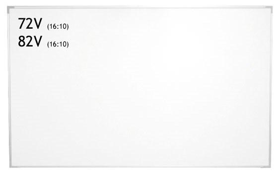 スクリーン+ホワイトボード兼用のWOLスクリーン 納期:問い合せ IZUMI スクリーン 日本産 半額 72インチ WOL-BR72V ホワイトボード兼用 +
