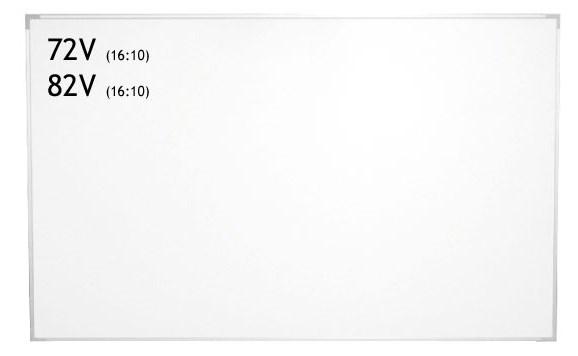 IZUMI スクリーン + ホワイトボード兼用 82インチ WOL-BR82V