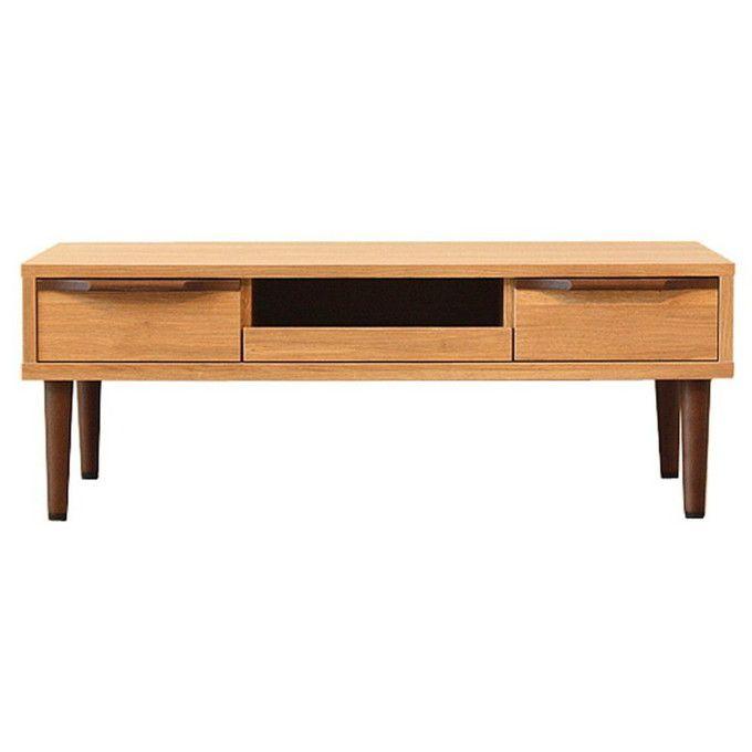 リビングテーブル センターテーブル 引き出し付き 北欧 木製 無垢 収納 ローテーブル テーブル コーヒーテーブル パソコンテーブル ナチュラル モダン カフェ風 ルームテーブル 座卓 新生活
