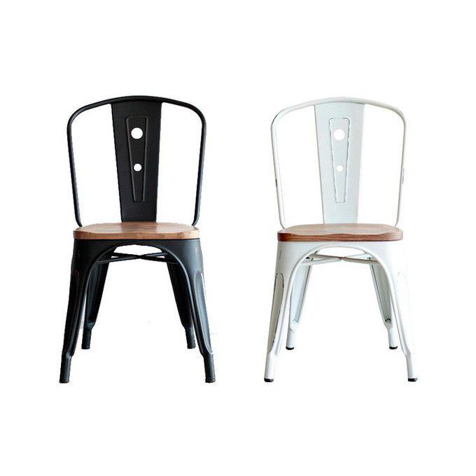 チェア ダイニングチェア 椅子 イス インダストリアル カフェ おしゃれ 店舗什器 スチール シンプル ナチュラル ヴィンテージ ビンテージ クール ダイニング インテリア ディスプレイ 金属製 完成品 スタイリッシュ デザイン