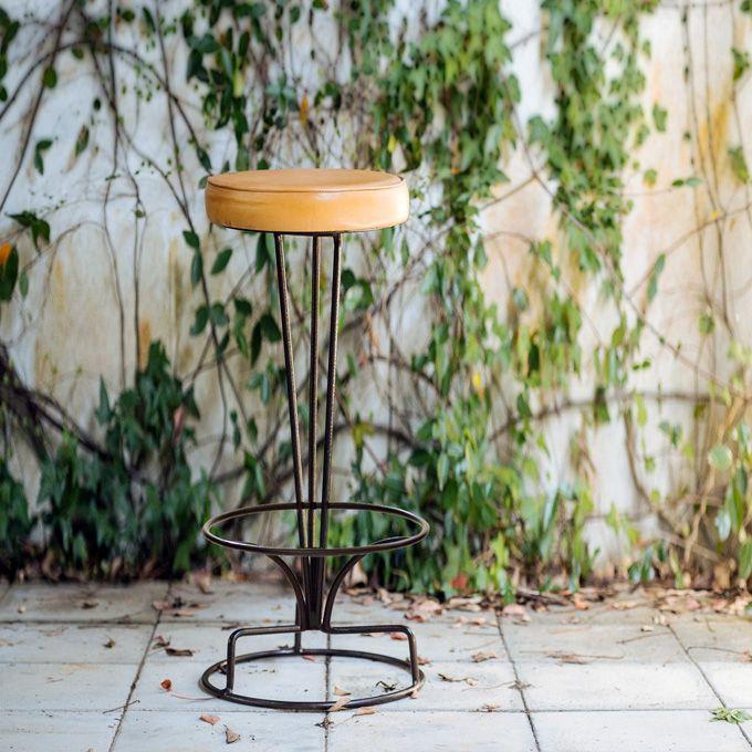ハイスツール ハイチェアー カウンター バー イス 円形 椅子 いす 北欧 カフェ 西海岸 シャビー ミッドセンチュリーモダン レトロヴィンテージ アンティーク インダストリアル アメリカン ブルックリン/