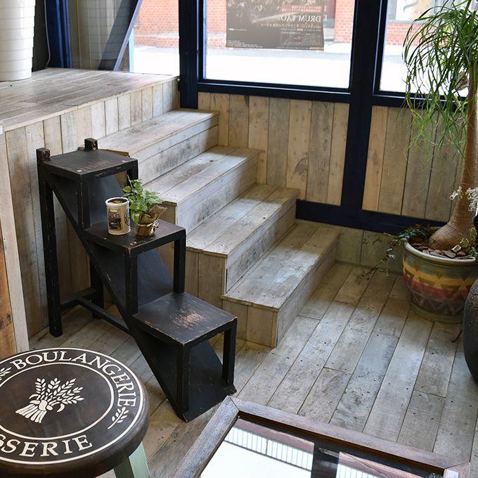 プランターラック ラダー ラダーラック 階段式3段ラック棚 ガーデニング アンティーク家具 シャビー家具雑貨 北欧風 レトロ モダン マリン