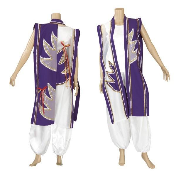よさこい衣裳 踊り衣装 祭り 上着 酉印 7074