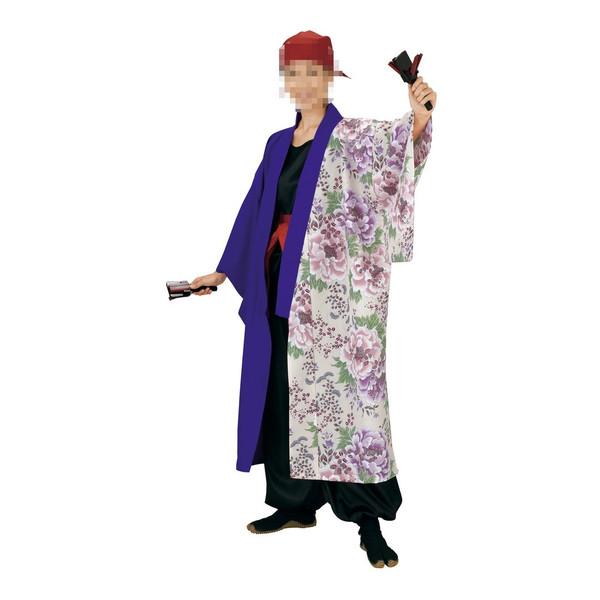 長半纏 半纏 祭 祭り衣装 踊り衣装 よさこい 飯印 7907