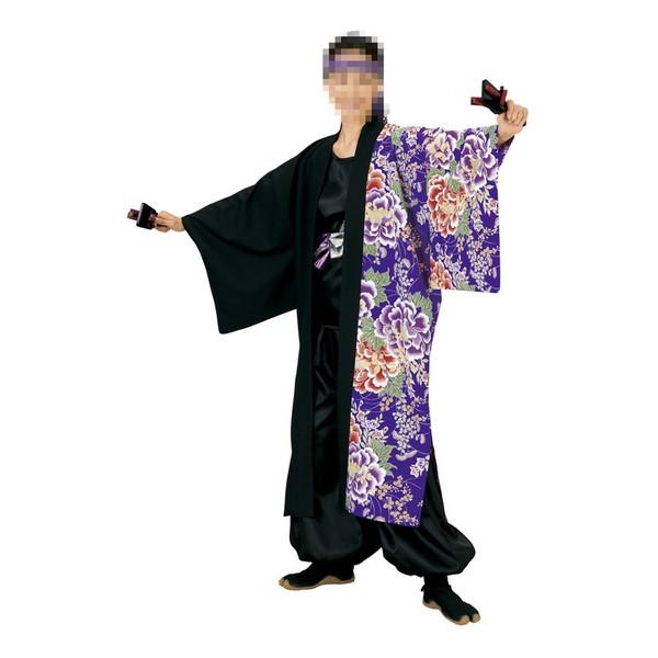 長半纏 半纏 祭 祭り衣装 踊り衣装 よさこい 笹印 7903