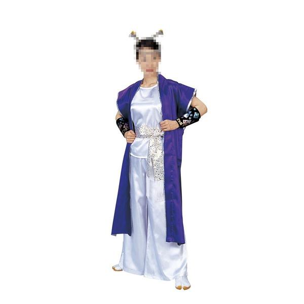 袖なし長半纏 法被 祭 祭り衣装 踊り衣装 旬印 7959
