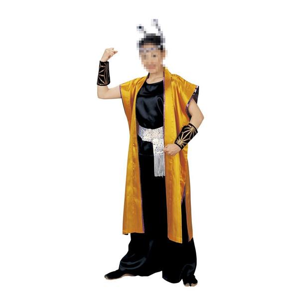 袖なし長半纏 法被 祭 祭り衣装 踊り衣装 旬印 7960