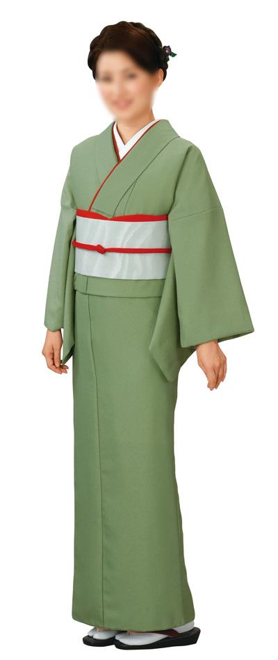 色無地 お仕立て上がり着物 袷仕立て 弘印 5691