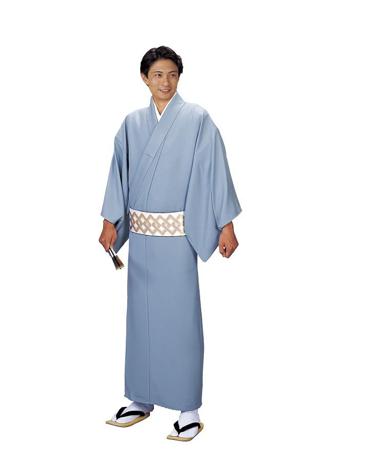 色無地 大きなサイズ お仕立て上がり着物 単衣仕立て  キングサイズ 友印 1151