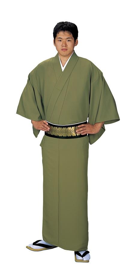 色無地 大きなサイズ お仕立て上がり着物 単衣仕立て  キングサイズ 友印 1152