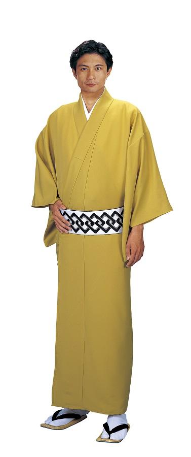 色無地 大きなサイズ お仕立て上がり着物 単衣仕立て  キングサイズ 友印 1153