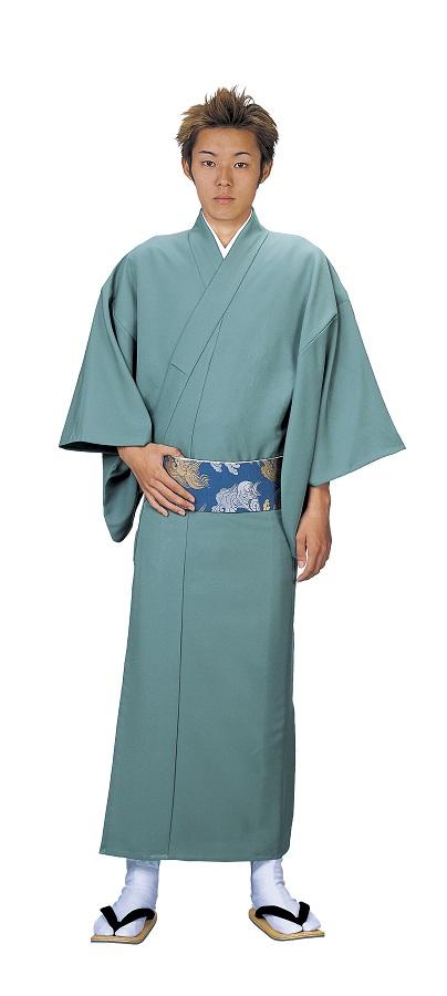 色無地 大きなサイズ お仕立て上がり着物 単衣仕立て  キングサイズ 友印 1156