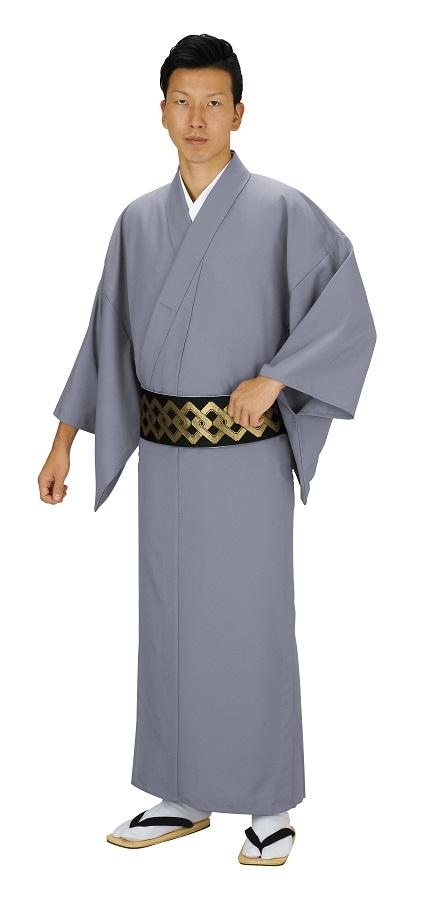 色無地 大きなサイズ お仕立て上がり着物 単衣仕立て  キングサイズ 友印 1158