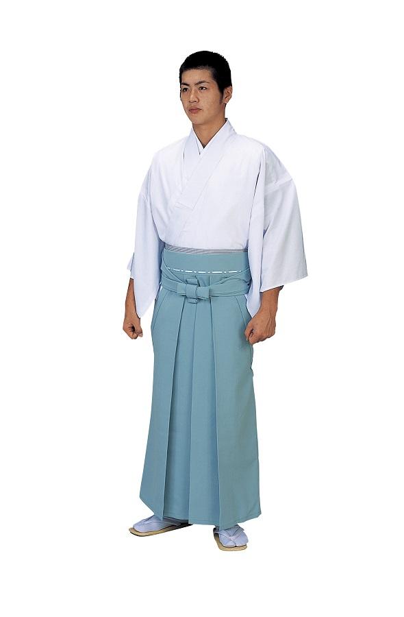 神職用袴 角マチ型 神官用 景印 5467