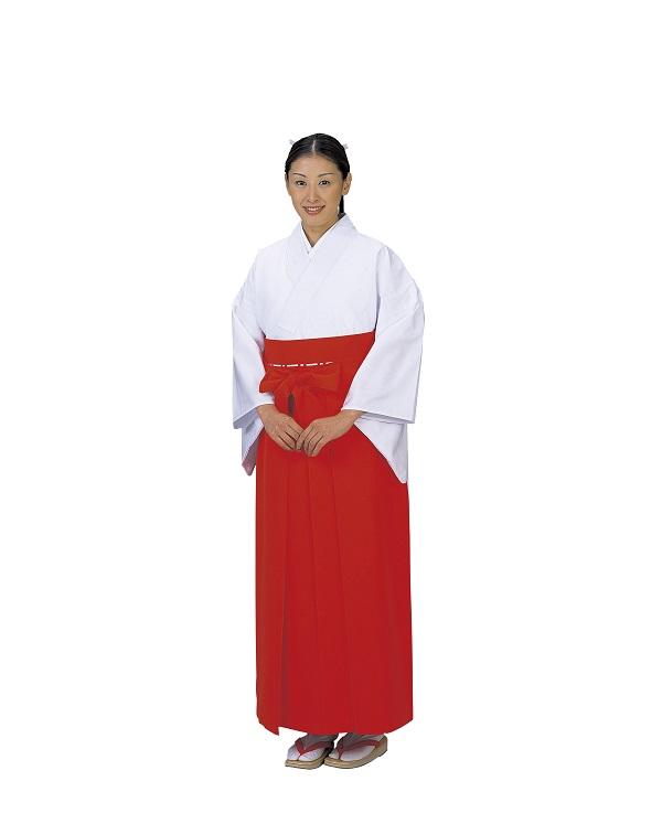 神職用袴 アンドン型 巫女用 景印 5465