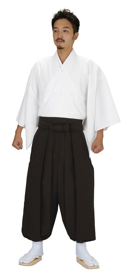 僧侶用 作業袴 寺用着物 万印 5450