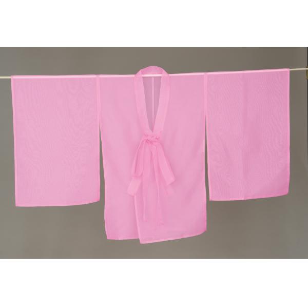 おしゃれ着 ピンク きものコート 活印 1222
