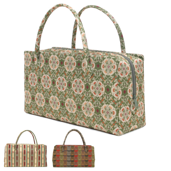 龍村美術織物 茶席用利休バッグ大 和装バッグ 龍村裂正絹使用