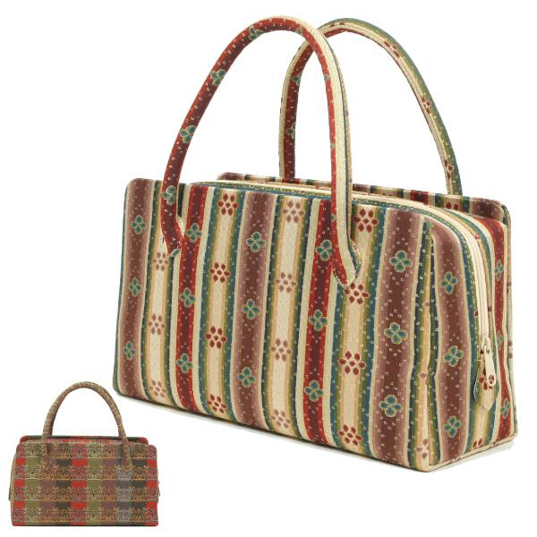 龍村美術織物 茶席用利休バッグ 中 和装バッグ 龍村裂正絹使用