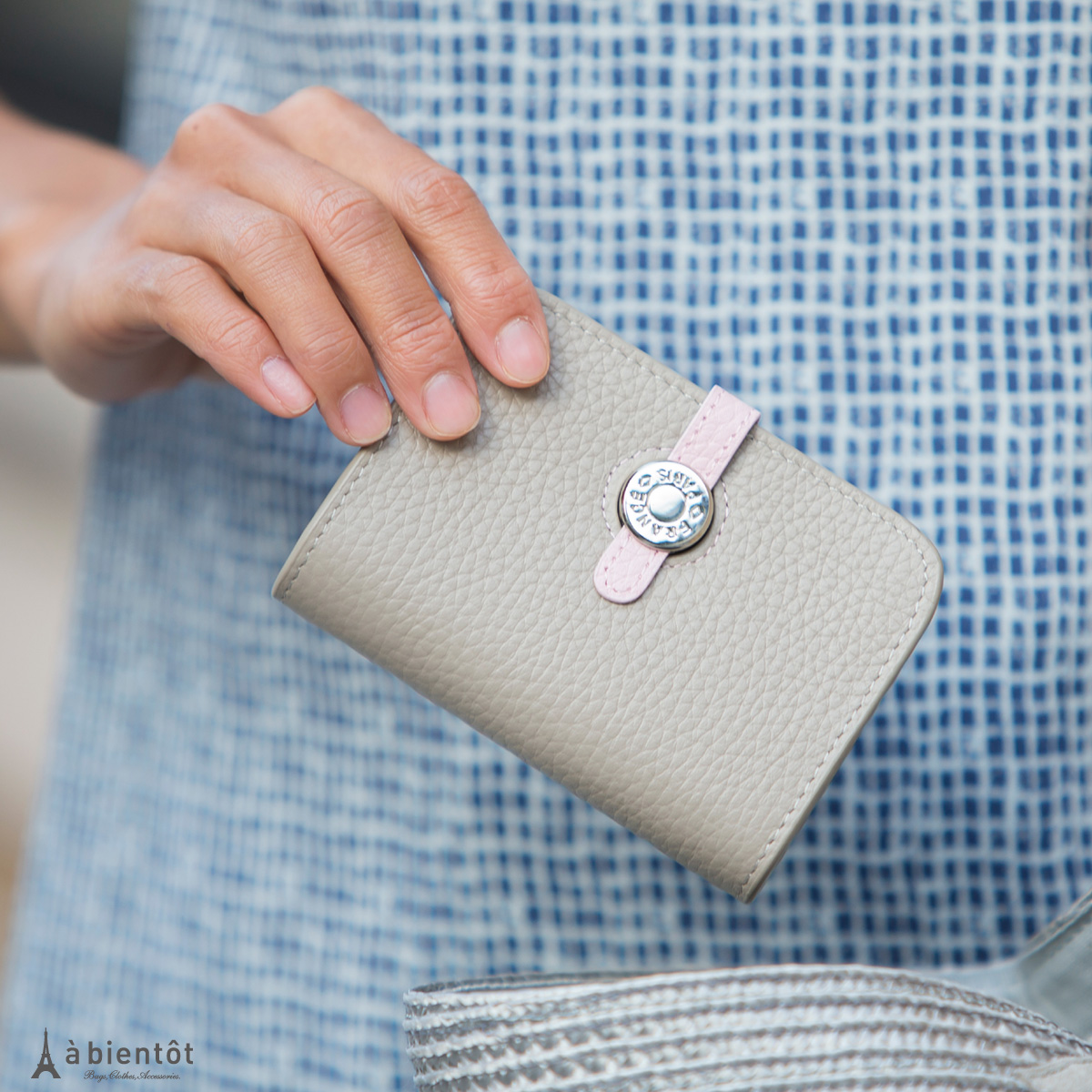 abientot   Rakuten Global Market: Shrink leather flap coin case ...