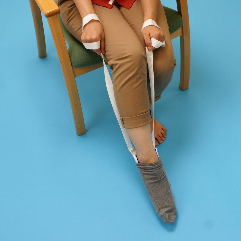 靴下がいれやすい先割れタイプ ソックスエイド 現金特価 ギフト プレゼント ご褒美 先割れタイプ L32720 靴下補助具 膝関節 アシスト 出産準備 股関節