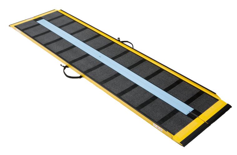 可搬型車いす用スロープ ダンスロープ エアー 150cm(R-150A)【車椅子段差解消機 Dun-Slope Air】
