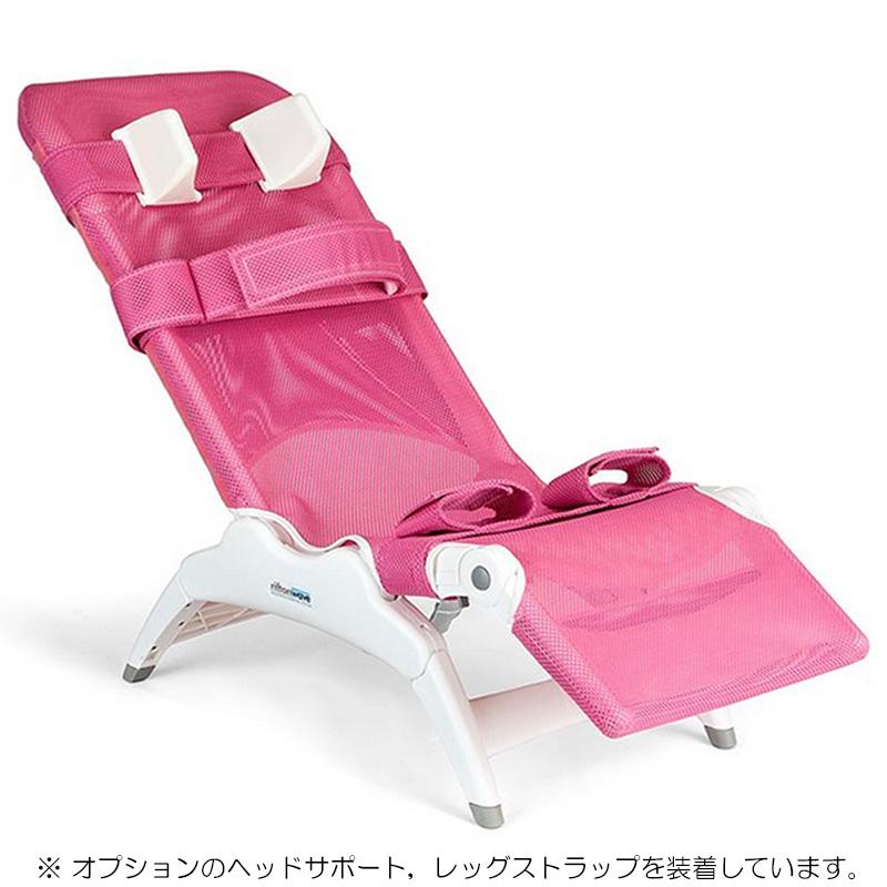 洗身チェア リフトンウェーブ Mサイズ【入浴介護/入浴用いす/シャワーキャリー】