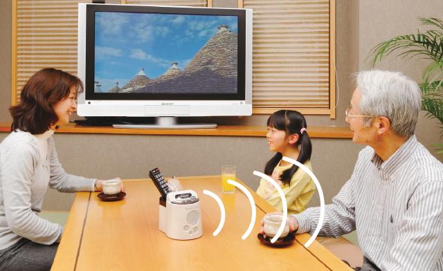 みみもとくんα2【赤外線コードレス耳元スピーカー/高齢者・難聴者・聴音補助器】