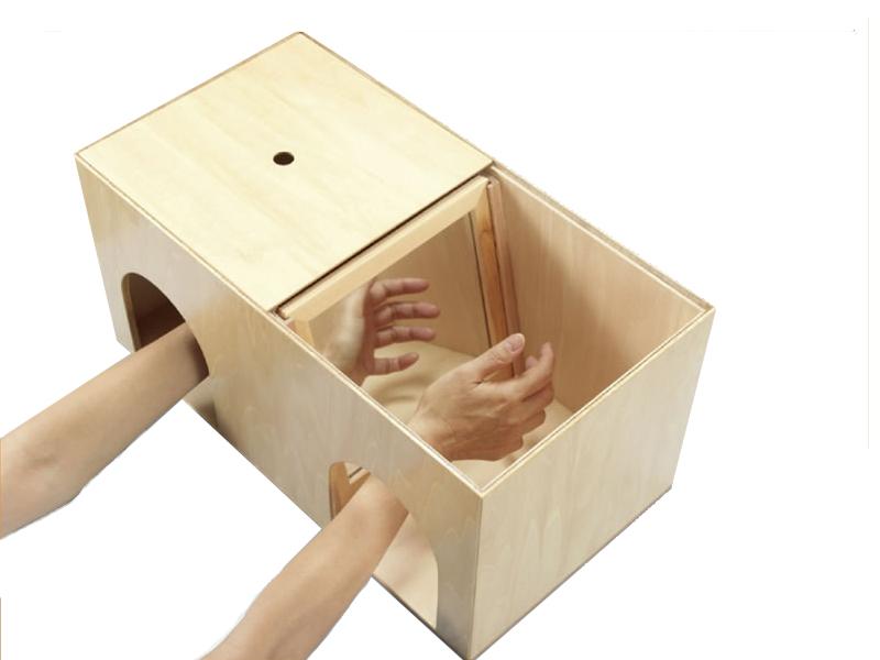 手指先運動 ミラーボックス M14577/TS001【作業療法/ミラーセラピー/手指訓練】