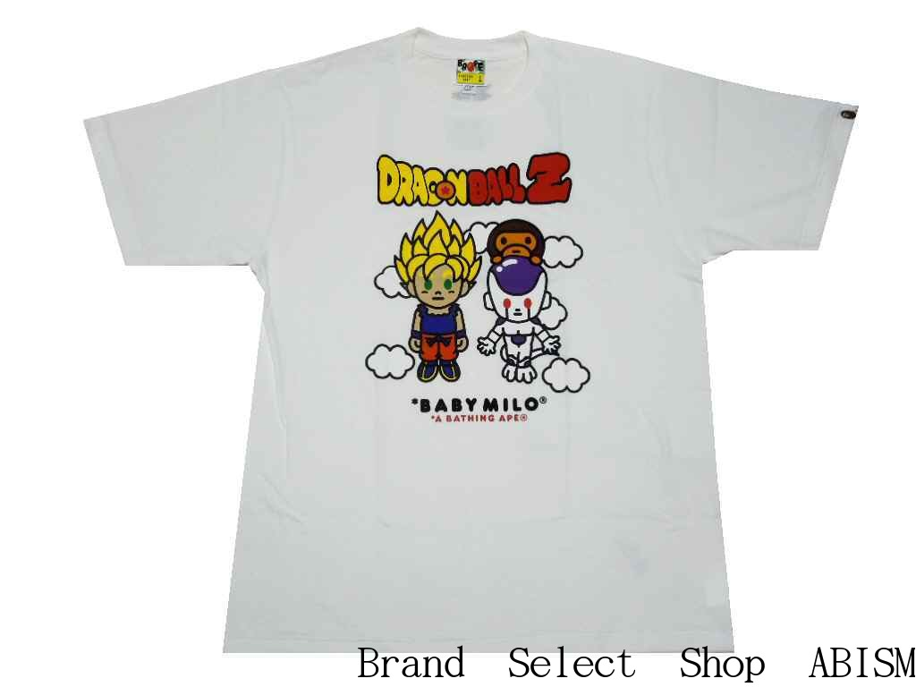 f23bef7e A BATHING APE (エイプ) xDRAGONBALL Z (dragon ball) BAPE X DRAGON BALL Z TEE #5  [T-shirt] [white] [product made in Japan] [new article]