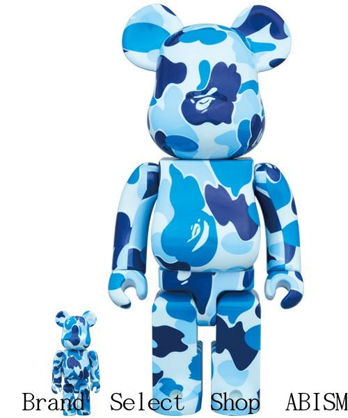 7f7bb723 Collaboration of BAPE and MEDICOM TOY It is BE@RBRICK 100% and 400% of sets.