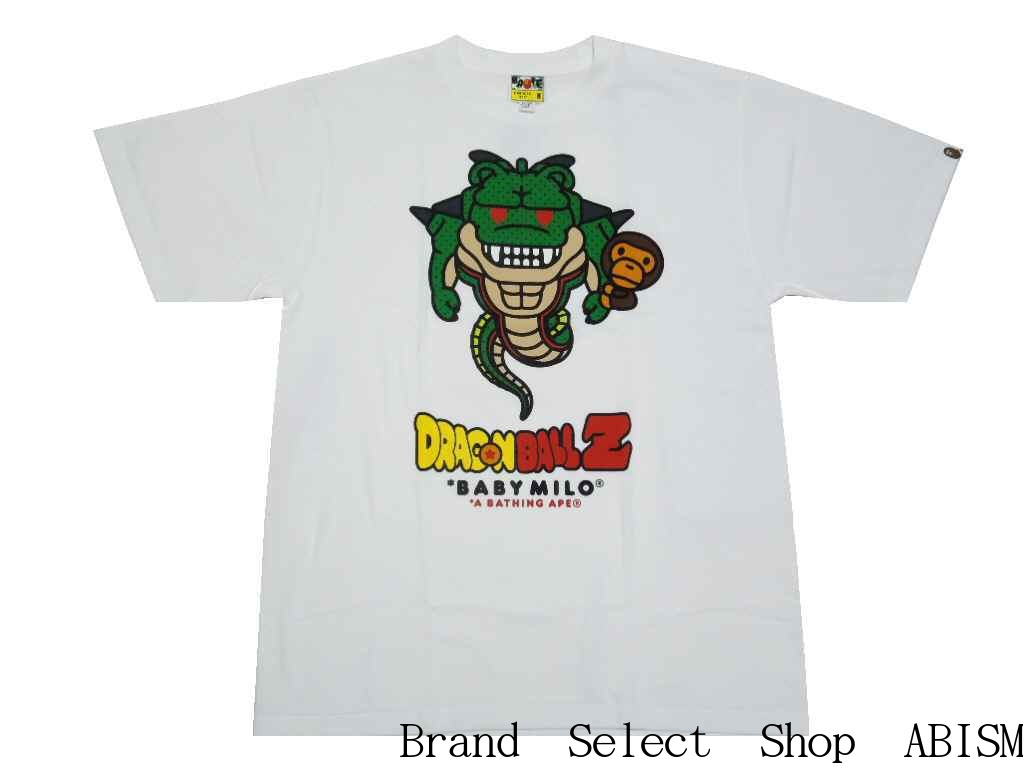 729066498 xDRAGONBALL Z (dragon ball) BAPE X DRAGON BALL Z TEE #2 [T-shirt] [white] [ product made in Japan] [new article] [MEN'S] [BAPE/ ベイプ]