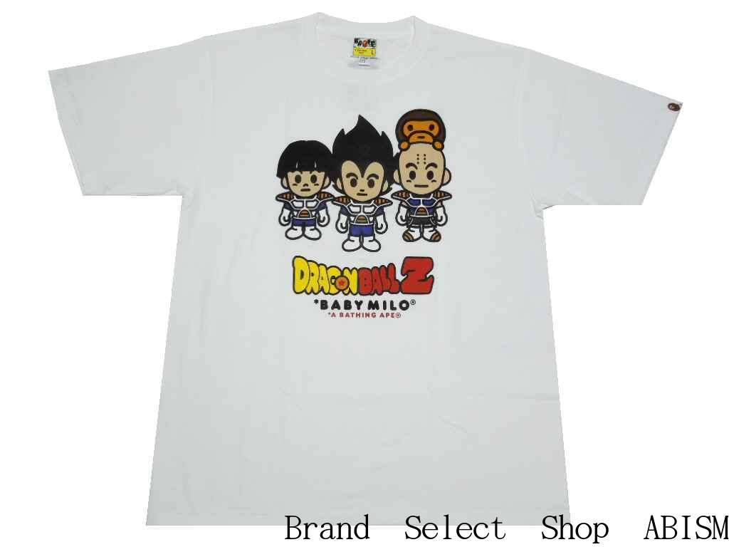 b8f67ef6 A BATHING APE (エイプ) xDRAGONBALL Z (dragon ball) BAPE X DRAGON BALL Z TEE #3  [T-shirt] [white] [product made in Japan] [new article]