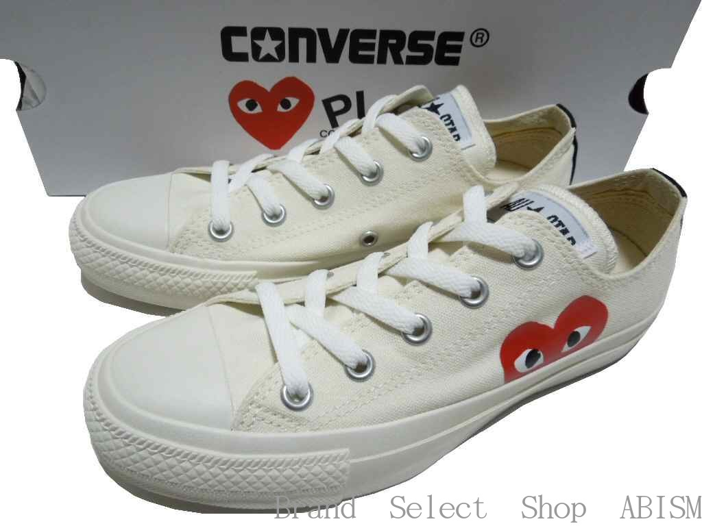 PLAY COMME des GARCONS (プレイコムデギャルソン) X CONVERSE (Converse) ALL STAR OX/PCDG  (all-stars)