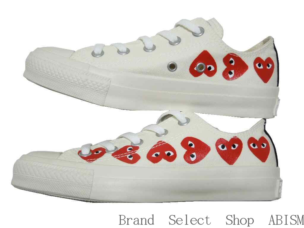 61a2abc6648d PLAY COMME des GARCONS (プレイコムデギャルソン) It is a collaboration sneaker of と  Converse. It is an icon of PLAY of グル っと nine in the side