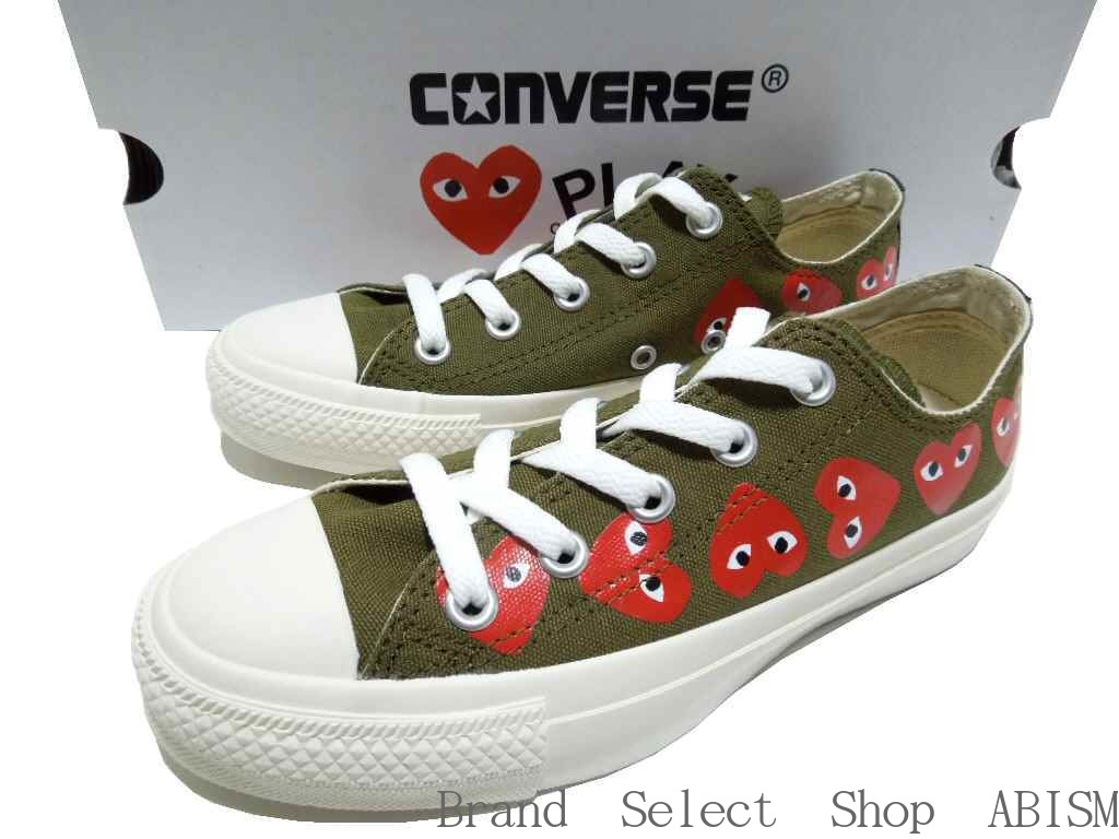 PLAY COMME Des GARCONS It Is A Collaboration Sneaker Of Converse An Icon Nine In The Side