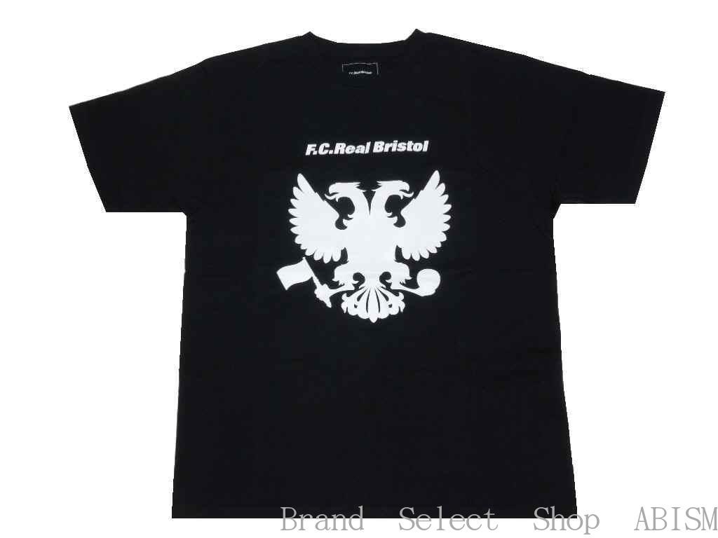 ★メンズサイズ★F.C.R.B.(エフシーアールビー)EAGLE TEE(イーグルTシャツ)【Men's】【Tシャツ】【ブラック】【日本製】【新品】SOPHNET. (ソフネット)(FCRB)