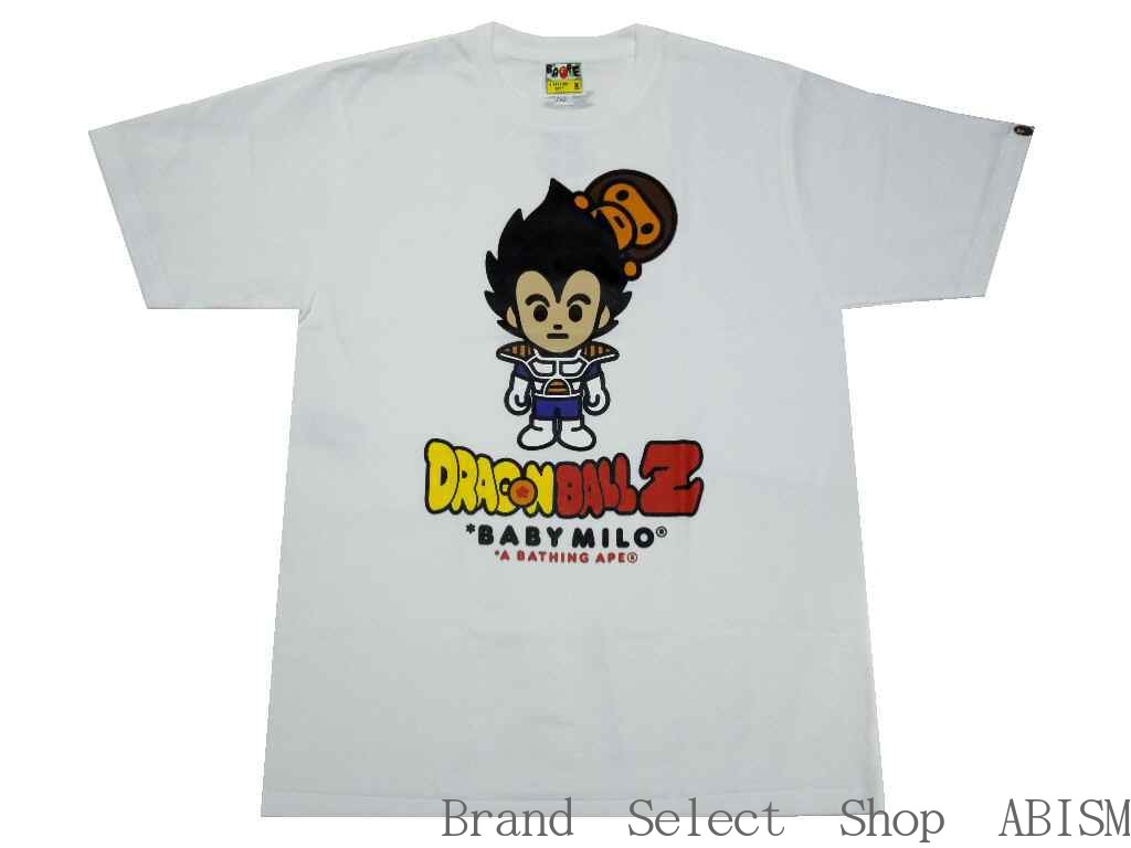 c6ab1e64 A BATHING APE (エイプ) xDRAGONBALL Z (dragon ball) BAPE X DRAGON BALL Z TEE  #11 [T-shirt] [white] [product made in Japan] [new article]