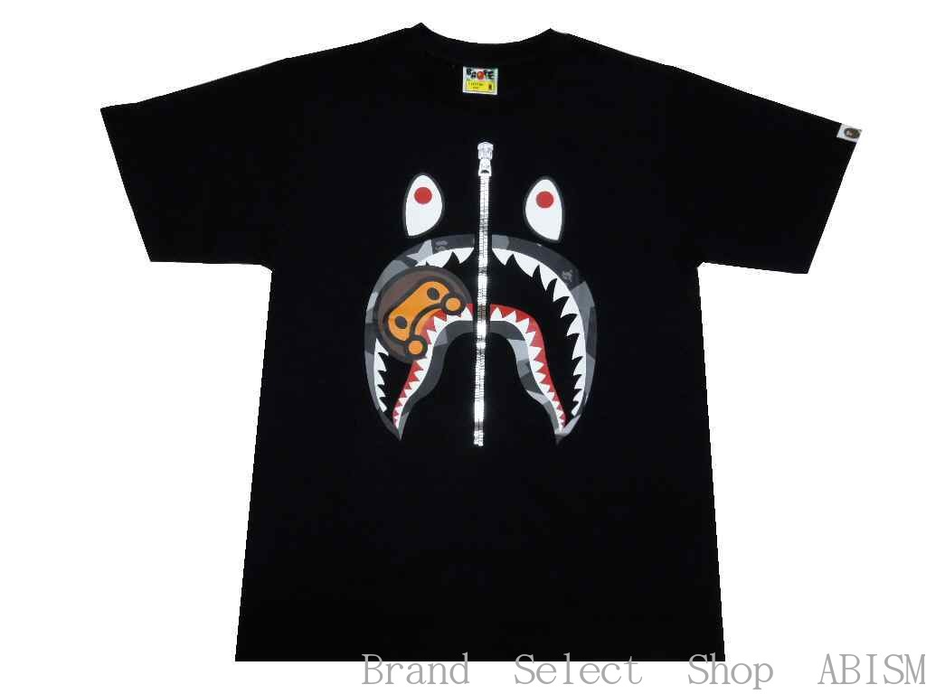 ccb69f8f Of popularity in A BATHING APE (アベイシングエイプ) SHARK motif and BABY MILO were  combined. It is the graphic T-shirt which I finished by a design of the ...