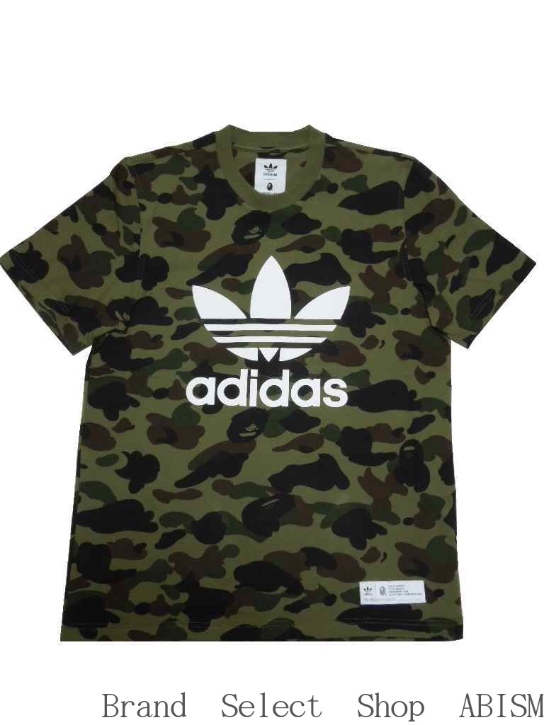 ea4ddeb97dad BAPE X AO CAMO TEE  T-shirt   green CAMO   MEN S   XL O   new article  BAPE  (ベイプ)