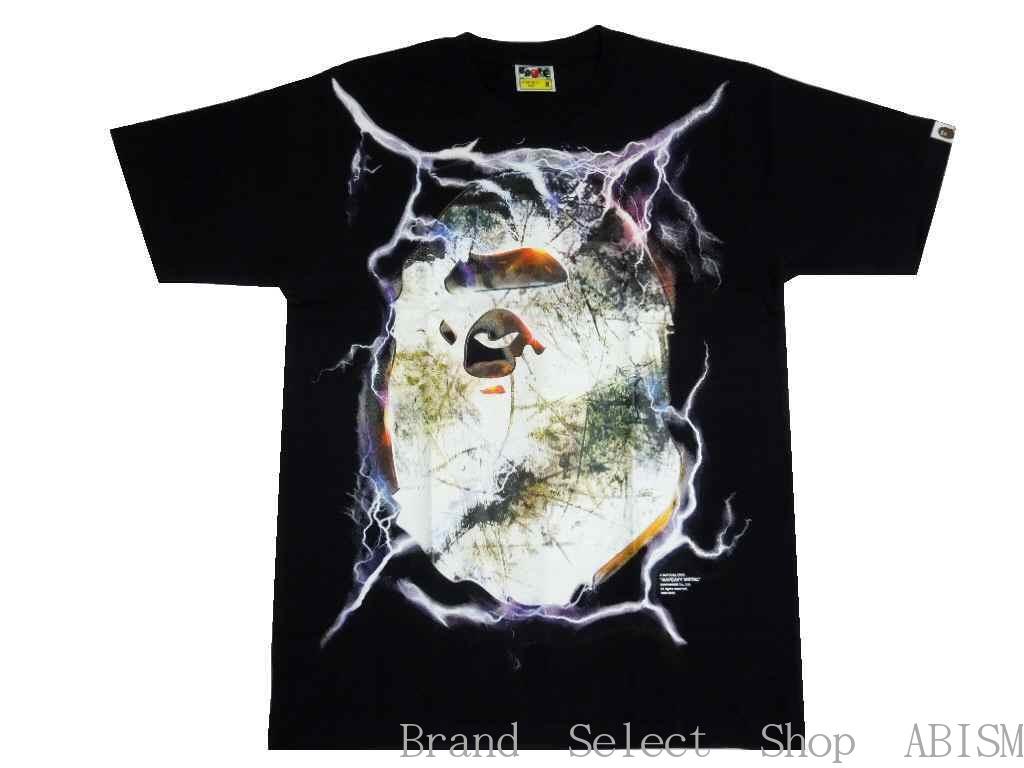 A BATHING APE(エイプ)BAPEAVY METAL TEE【Tシャツ】【ブラック】【新品】【MEN'S】【BAPE/ベイプ】