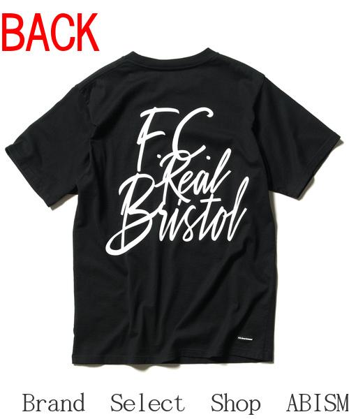 ★メンズサイズ★F.C.R.B.(エフシーアールビー)TAGGING TEE(Tシャツ)【Men's】【ブラック】【新品】SOPHNET. (ソフネット)(FCRB)