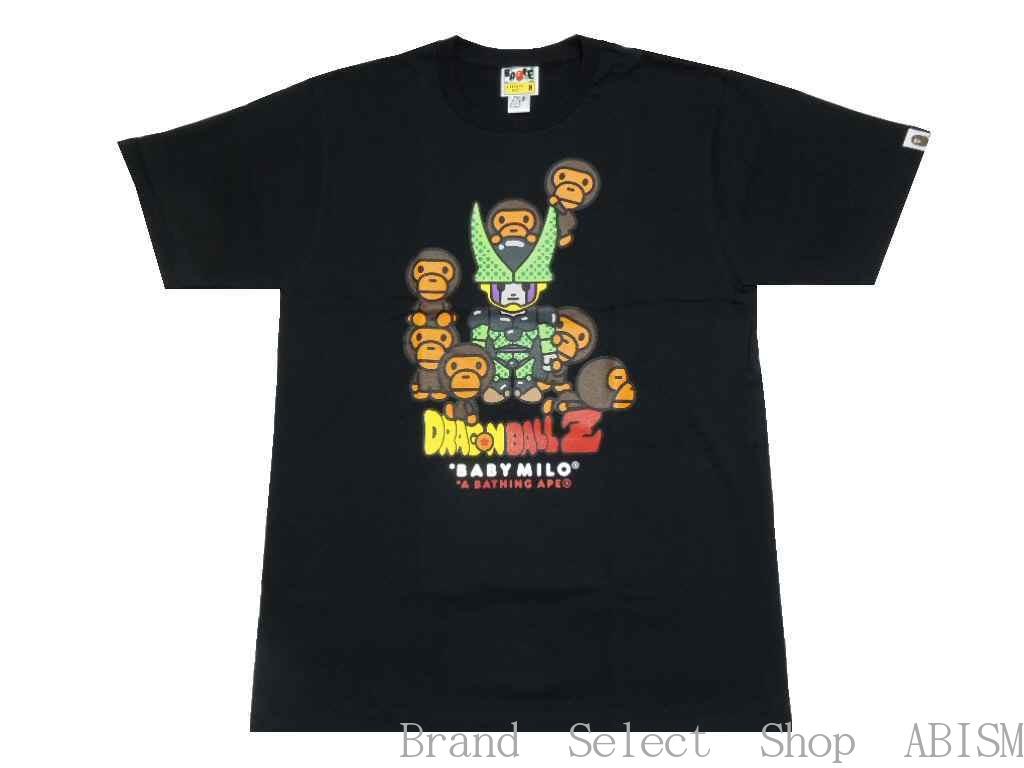 A BATHING APE(エイプ)xDRAGON BALL Z(ドラゴンボールZ)BABY MILO CELL & CELL JR. TEE【Tシャツ】【ブラック】【MEN'S】【新品】BAPE(ベイプ)