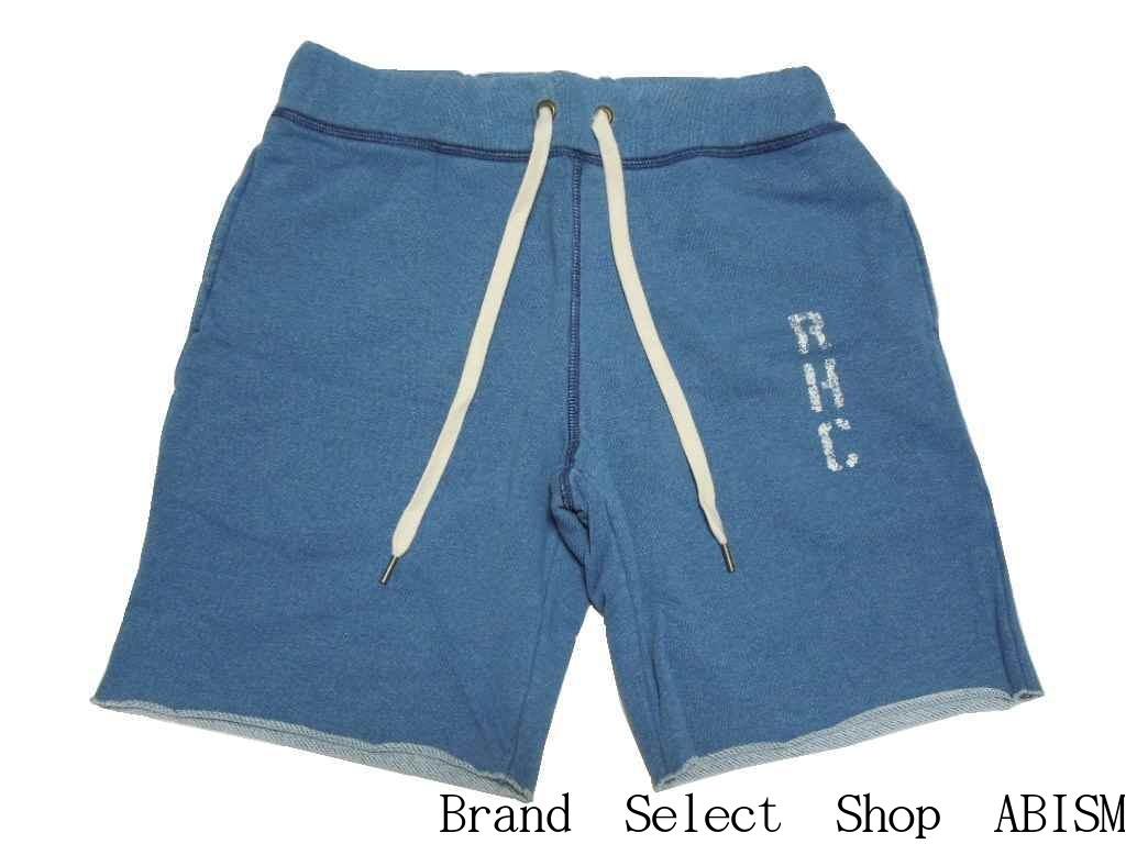 RHC Ron Herman(ロンハーマン)RHC Sweat Shorts(スウェットショーツ)【indigo/インディゴ】【新品】RHCロンハーマンみなとみらい店3周年記念限定アイテム