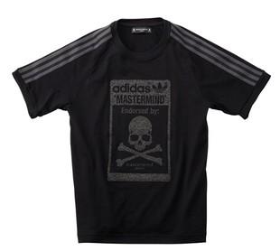 신주쿠이 세 탄 한정 판매 품!! Mastermind JAPAN (마스터 마인드 재팬) × A/O 라스트 협업 글라스 비즈 티셔츠!