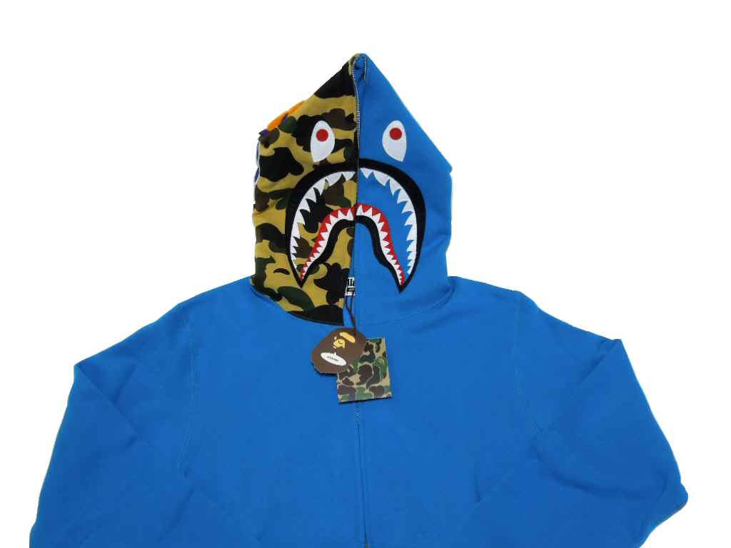 brand select shop abism  A BATHING APE (APE) SHARK FULL ZIP HOODIE ... 60b225aee15a