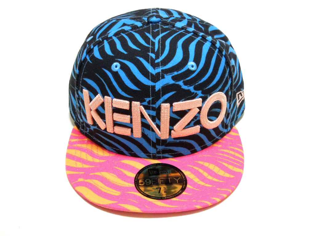 KENZO (Kenzo) × NEWERA (Newell) collaboration with Cap 2014 (Cap)  (PINK×BLUE) 468d777c016