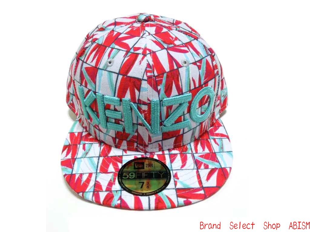 KENZO (Kenzo) × NEWERA (Newell) collaboration with Cap 2014 (Cap) (RED) 6a8a8ffaa66